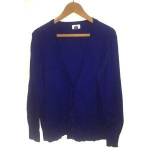 Old Navy Blue Cardigan Size XL